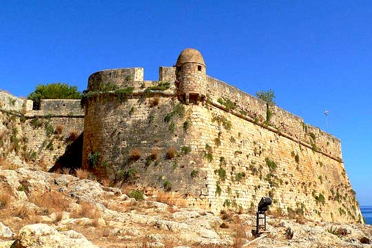 Fortezza Fortress - Rent a Car at Crete